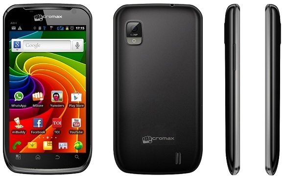 Micromax Superfone Infinity A80 Mobile